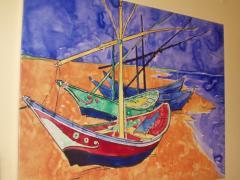 Művészi festővászon - canvas, kanavász, vászon #6