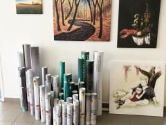 Művészi festővászon - canvas, kanavász, vászon #2