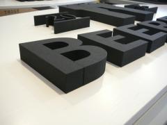 3D betű - felirat, 3D habvágás, 3D logó #6
